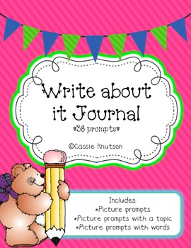 Weekly Journal Writing Prompts for Primary