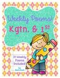 Weekly Kindergarten Poems