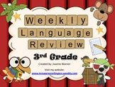 3rd Grade Weekly Language Review