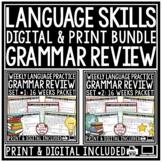 Grammar Practice 3rd Grade, 4th Grade Language Review, Rev