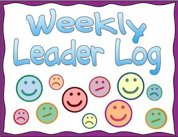 Weekly Leader Log