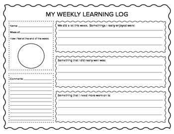 Weekly Learning Log