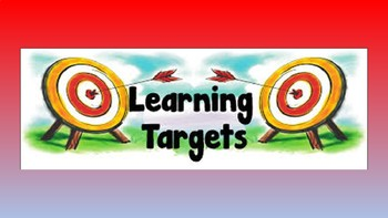Weekly Learning Target Assignment Choice Board (SRA, Morning Choice, Daily 5)