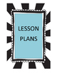 Weekly Lesson Plan Form Bundle