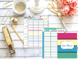Weekly Lesson Plan Templates (Editable)