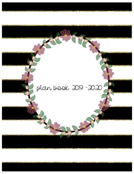 Weekly Lesson Planner and Student Information for Teachers {Cactus Themed}