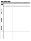 Weekly Lesson Planner for French or Spanish Class