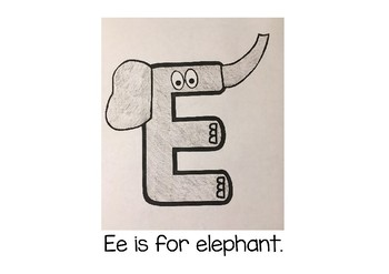 Weekly Letter Craft - E