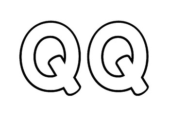 Weekly Letter Craft - Q