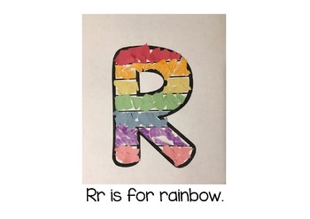 Weekly Letter Craft - R