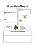 Weekly Letter Template