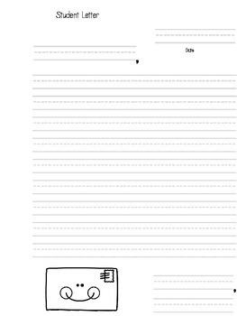 Weekly Letters Template (For Student-Parent Correspondence)