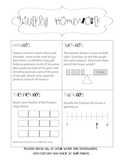 Weekly Math Homework
