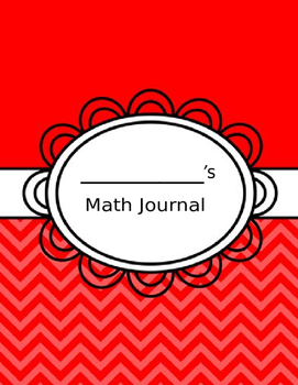 Weekly -Math Journal - Common Core - EDITABLE - Calendar- Math - 1st grade