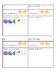 Weekly Math Learning Log
