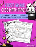 First Grade CCSS Math Magic {Set One}