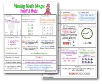Second Grade CCSS Math Magic {Yearlong Bundle}