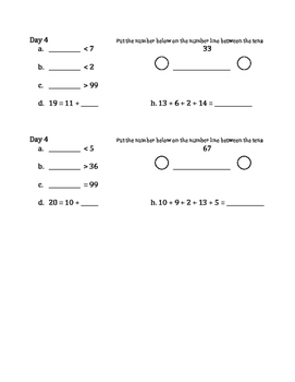 Weekly Math Review 2