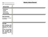 Weekly Media Report Template