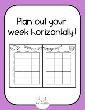 Weekly/Monthly Planner