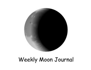 Weekly Moon Journal