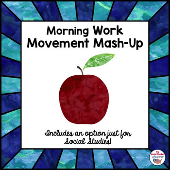 Weekly Morning-Work and Movement Mash-Up FREEBIE