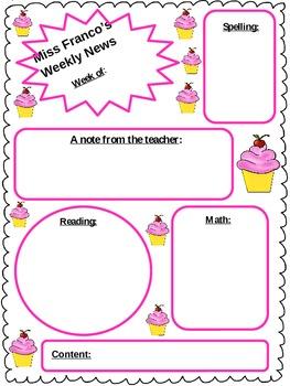 Weekly News: Cupcake Edition