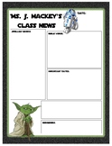 Weekly News Letter (Star Wars)