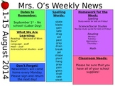 Weekly News/Newsletter