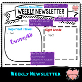 Weekly Newsletter