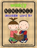 Weekly Nonsense Word Checks