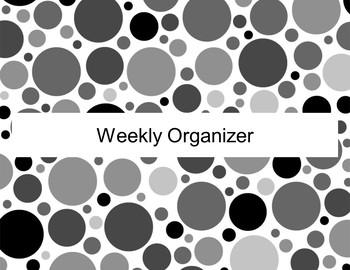 Weekly Organizer