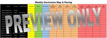 Weekly Pacing - Curriculum Map