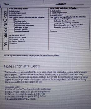 Weekly Papers Progress Report