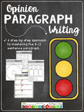 Paragraph Writing (for any OPINION topic)