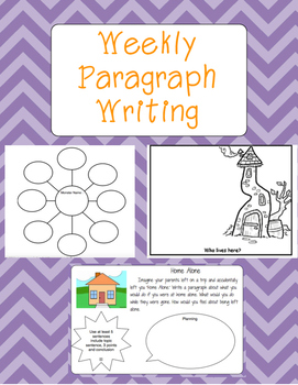 Weekly Paragraph Writing