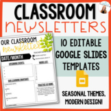 Weekly Parent Newsletter - EDITABLE (in Publisher*) - Seas