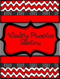 Weekly Phonics Review Middle Grades Whole Class / RTI Reme