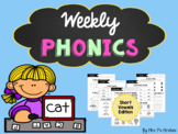 Weekly Phonics - Short Vowels Edition