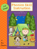 Weekly Phonics Skill Instruction Recording Sheets for Houg