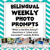 Bilingual Weekly Photo Prompt: 30 Actions BUNDLE