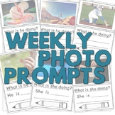 Weekly Reflection Questions - Photo Prompt: 30 Actions & What Q?s