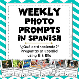 Weekly Photo Prompt: 30 Actions & What Questions {Spanish