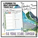 Weekly Planner - Adventure Theme Freebie
