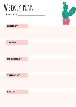 Weekly Planner Bundle
