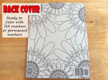 Weekly Planner Coloring Book 30 weeks of planning and Coloring Pages