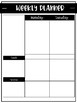 Weekly Planner - FULLY EDITABLE