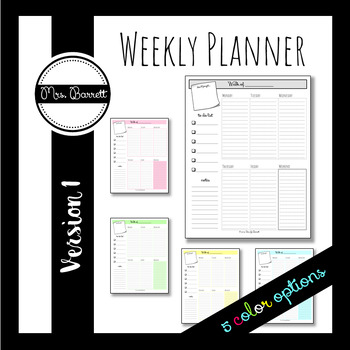Weekly Planner (Free)