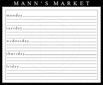 Weekly Planner - Large