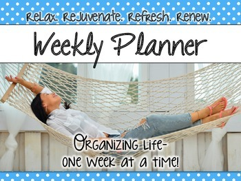 Weekly Planners - Small Polka Dot